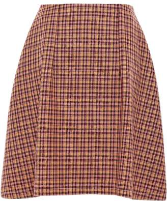 Nina Ricci Flared Wool Skirt