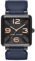 Marc Jacobs Vic Leather Strap Watch, 34mm