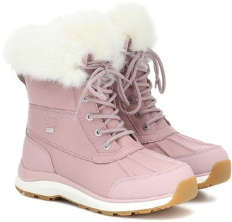 UGG Adirondack II Fluff leather boots