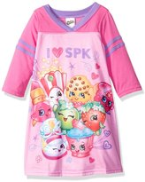 "Shopkins Little Girls' ""I Love SPK"" Nightgown"