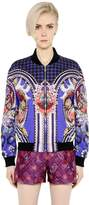 Mary Katrantzou Printed Cotton Poplin Bomber Jacket