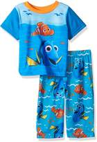 Disney Boys' Finding Dory Sun and Waves 2-Piece Pajama Set