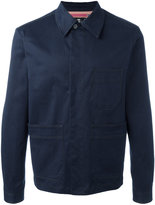 Paul Smith patch pocket shirt jacket - men - Cotton/Spandex/Elastane - M