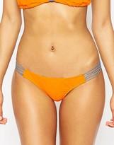Asos FULLER BUST Exclusive Contrast Lattice Bikini Bottom