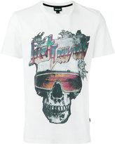 Just Cavalli skull print T-shirt - men - Cotton - XL