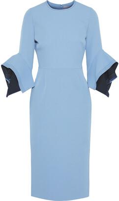 Roksanda Ronda Two-tone Crepe Dress