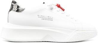 Giuliano Galiano Logo-Print Chunky Low-Top Sneakers