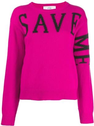 Alberta Ferretti 'Save Me' jumper