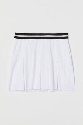 H&M Tennis Skirt - White