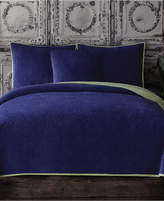 Tracy Porter Closeout! Reversible Velvet Quilted King Coverlet Bedding