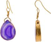 Mela Artisans Dewdrop in Purple Drop Earrings