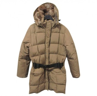 Woolrich Beige Coat for Women