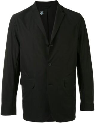 Descente Single-Breasted Fitted Blazer