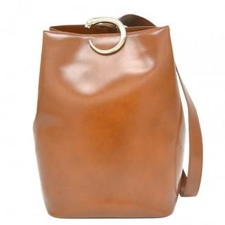 Cartier Panthere Camel Leather Handbags