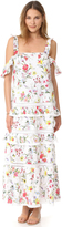 Nicholas N Daffodil Broderie Tiered Maxi Dress