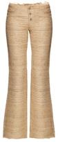 Marques Almeida MARQUES'ALMEIDA Silk-noil bootcut trousers