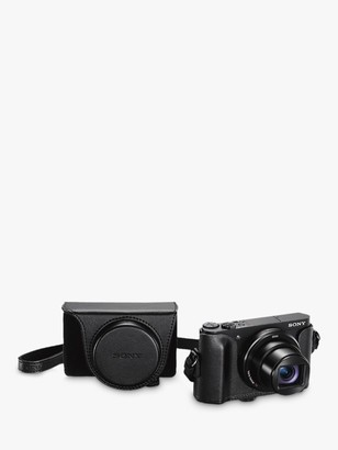 Sony Cyber-Shot WX500 Camera, HD 1080p, 18.2MP, 30x Optical Zoom, Wi-Fi, NFC, 3 Vari Angle LCD Screen with Jacket Camera Case