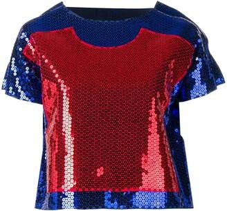 Comme Des Garçons Pre Owned Two Dimension blouse