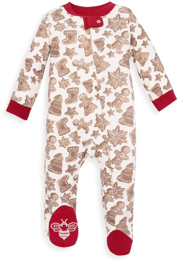 Burt's Bees Gingerbread Organic Sleep & Play Pajamas