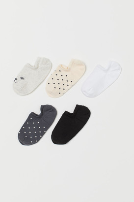 H&M 5-pack Liner Socks - Gray