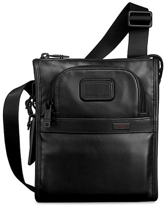 Tumi Alpha 2 Small Leather Pocket Bag