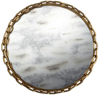 A&B Home Glass/Metal Tray