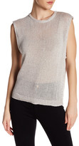 Inhabit Loose Chunky Knit Tank