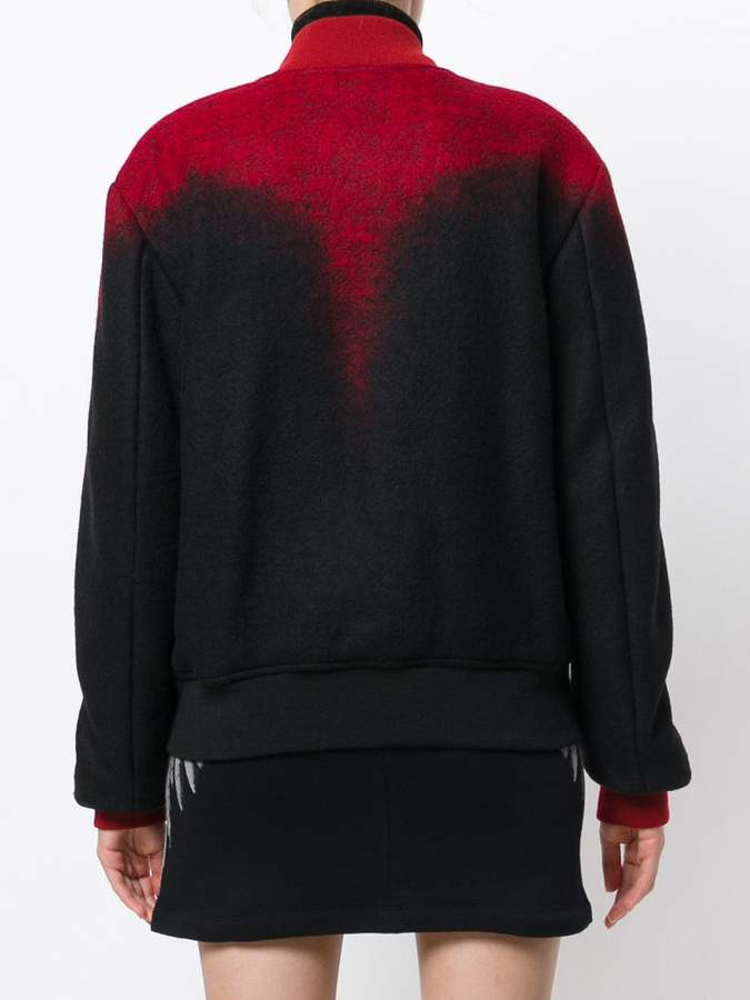Marcelo Burlon County of Milan embroidered bomber jacket