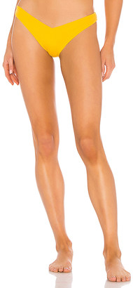Tori Praver Swimwear Spencer Cheeky High Leg Bikini Bottom
