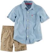 Carter's 2-Pc. Shirt & Shorts Set, Toddler Boys (2T-4T)