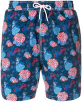 Hackett Coral print swim shorts