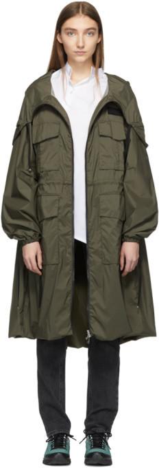 Moncler Green New Delhi Coat