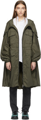 Moncler Green New Delhi Coat