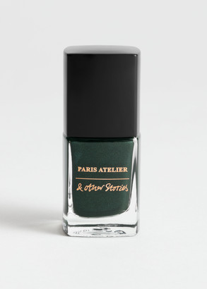 And other stories Vert Chrome Nail Polish