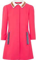 Mary Katrantzou Mason Embellished Wool-blend Coat