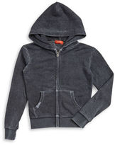 Butter Shoes Girls 7-16 Studded Zip-Up Hoodie