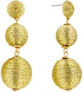 BaubleBar 30153 Metallic Crispin Drops-Gold