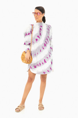 Sea New York Fuchsia Tie Dye Tamara Tunic Dress