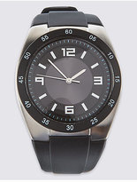 M&S Collection Silicone Sports Watch