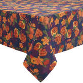 Sur La Table Floral Navy Tablecloth