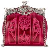 Patricia Nash Burnished Tooled Rosaria Small Frame Clutch
