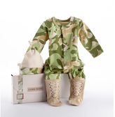 Baby Aspen Big Dreamzzz Camouflage Sleep & Play Hat Gift Set - Baby