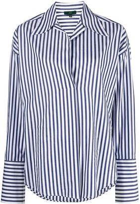 Jejia Oversize Striped Shirt