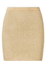 Ralph Lauren Metallic Mini Skirt