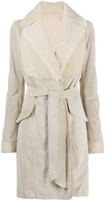 Gianfranco Ferré Pre-Owned 2007 Belted Knee-Length Coat