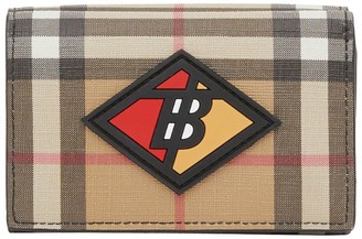 Burberry Small Check Folding Wallet