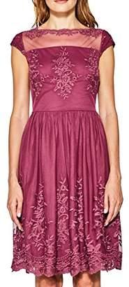 Esprit Women's 067EO1E030 Dress, Red (Berry 625), Large