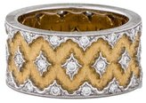 Buccellati Two-Tone Diamond Ring