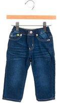 Armani Junior Boys' Stretch Knit Straight-Leg Pants w/ Tags