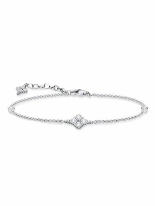 Thomas Sabo Women Silver Link Bracelet - A1824-643-14-L19v